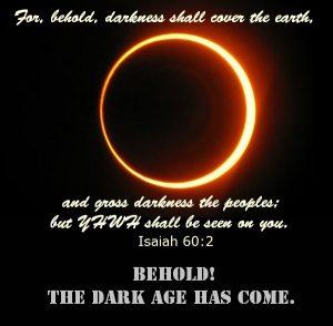 The Dark Age Has Come