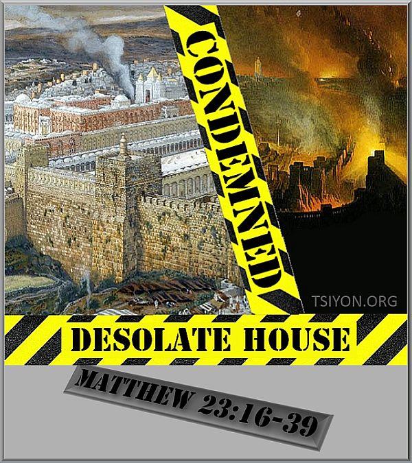 destruction prophecied in advance