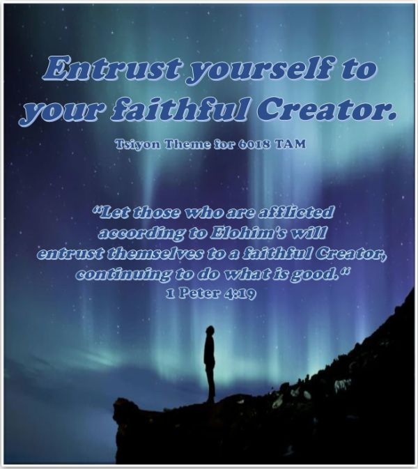 Your Faithful Creator