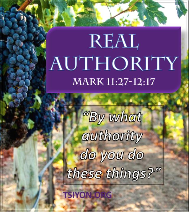 What is real authority.