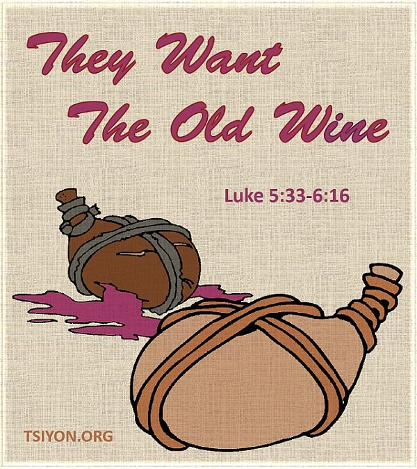 Try the new wine!
