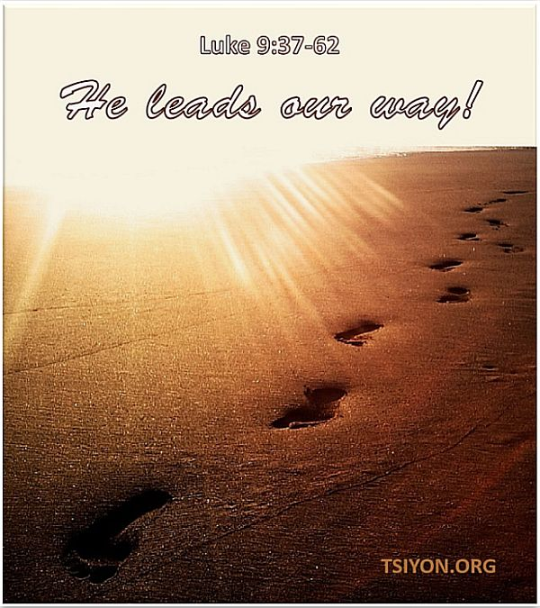 He leads our way!