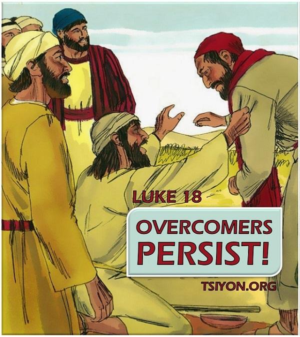 Overcomers persist!