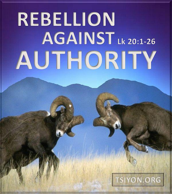 Rebellion against Messiah