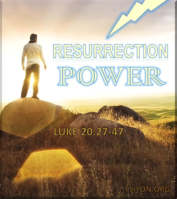 There is power - for you - in the resurrection!
