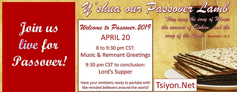 Join us for Passover