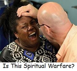 Is this spiritual warfare?