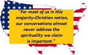 Our nation seldom speaks of God.