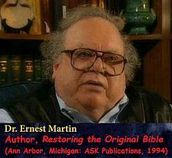 Martin exposed the Scripture scramble!