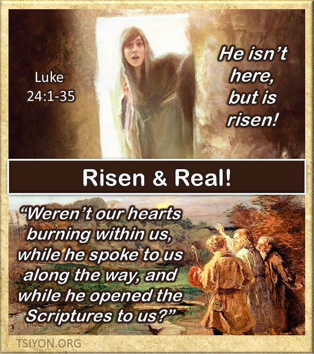 Risen and Real!