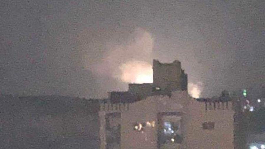 Israeli's hit Damascus targets