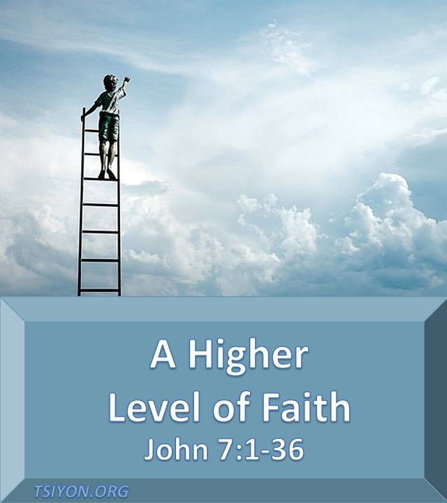 There is a higher level of faith.