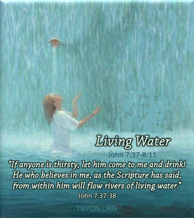 Receive Living Water!