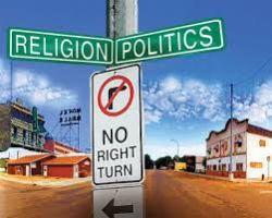 Religion and politics come together