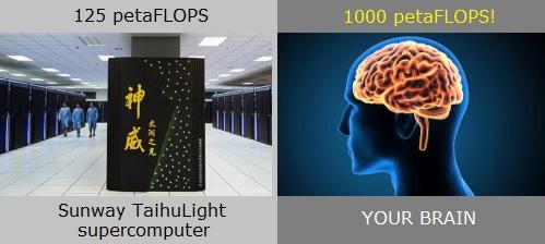 A lotta FLOPS.