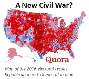 A divided country.