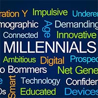 Millenials are said to be