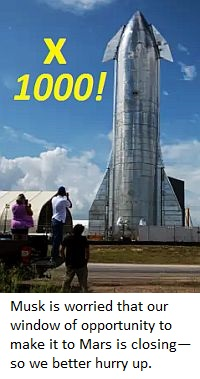 1000 starships