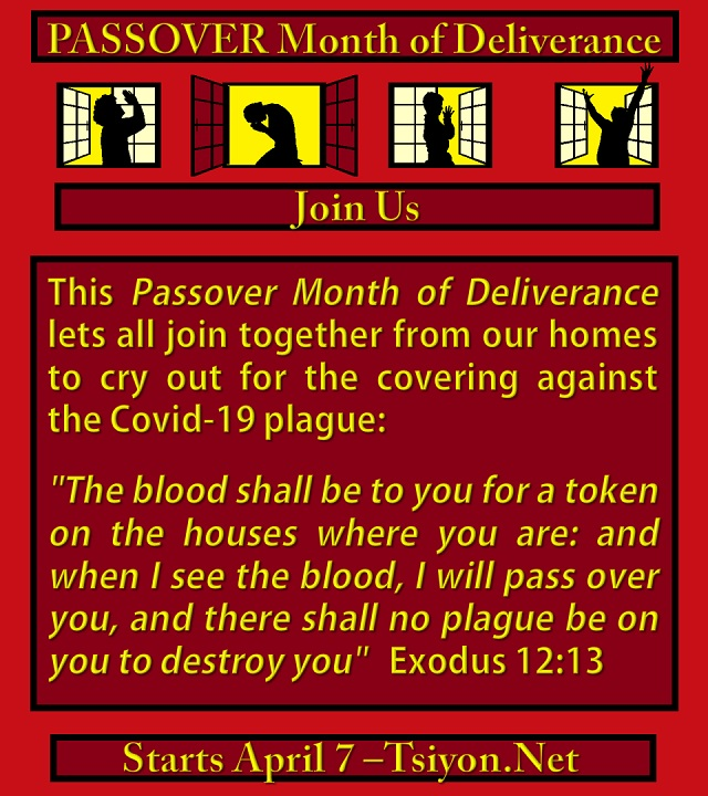 Passover Month of Deliverance Kick-off