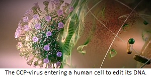 CCP-virus editing your DNA