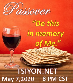 Let us remember Yeshua together.