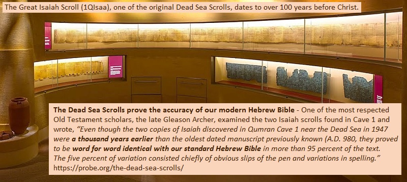 Dead Sea Scrolls - You can trust the Bible!