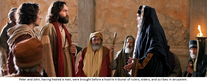 The Messianic Assembly of Israel had a holy boldness!