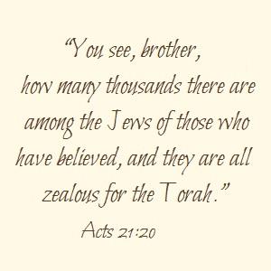 Zealous for the Torah