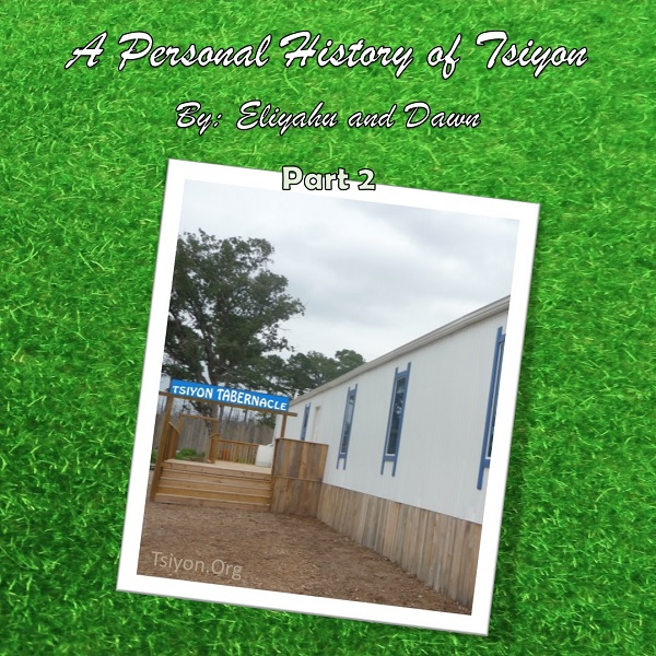 History of Tsiyon - Part 2
