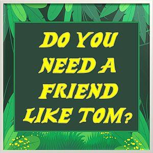Do you need a friend like Tom?