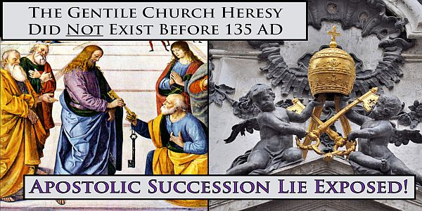 The Church is a Schism!