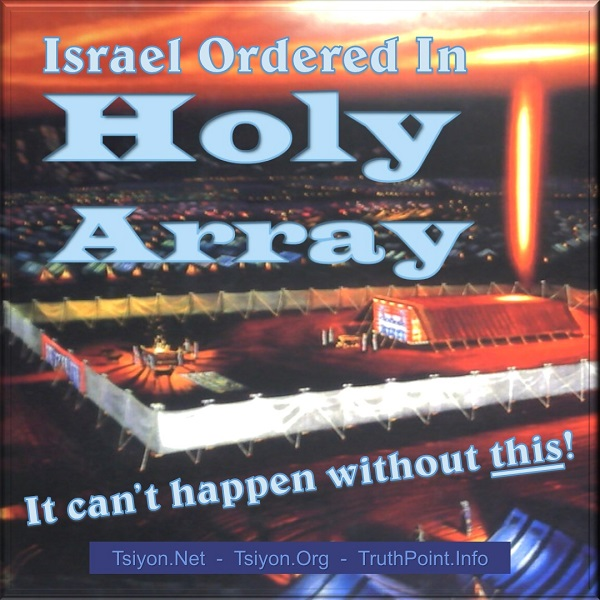 Israel ordered in Holy Array-it cannot happen without this! click to read the Tsiyon News