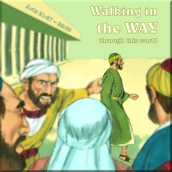 Image is link to Tsiyon News. Text on image says Walking in the Way through His Word which way will you go?