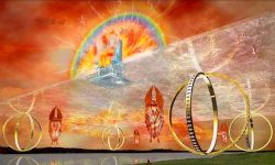 The Chariot of YHWH as seen by Ezekiel