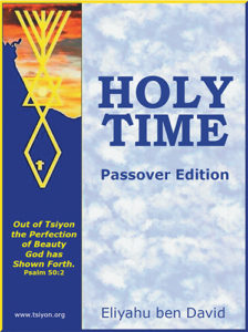 Holy time eBook cover medium