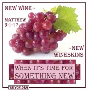 New Wine - New Wineskin