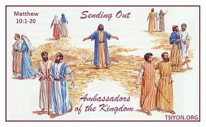Sending out ambassadors of the Kingdom