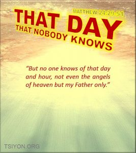 The Day nobody knows