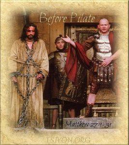 Before Pilate