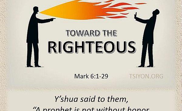 Hostility Toward The Righteous