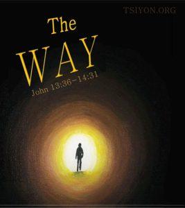 The Way John 13:36-14:31